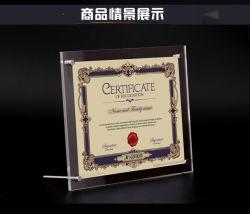 أكريليكيّ شهادة إطار & براءة إختراع إطار & وثيقة إطار