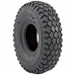 2 plis 10 pouces Roue pneumatique avec bande de roulement des pneus à crampons en caoutchouc