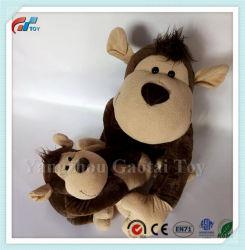 Pluche van het Stuk speelgoed van de Wildernis van het Stuk speelgoed van de douane de Nieuwe Aap Gevulde