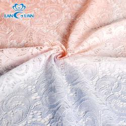 Doppeltes Farben-Änderungs-Frauen-Kleid-Luxuxspitze-Gewebe