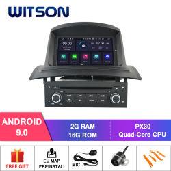 Auto DVD GPS des Witson Vierradantriebwagen-Kern Android-9.0 für Renault Megane II 2005-2009 baute in 16GB Inand auf