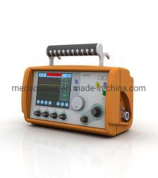 (MS-P120) Utilização médica transporte ambulância UTI ventilador portátil de emergência