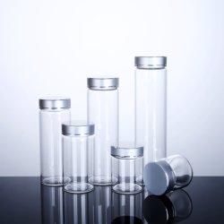 fiale di vetro del profumo di buona qualità di 18ml 20ml 25ml Cina mini con i coperchi a vite del metallo