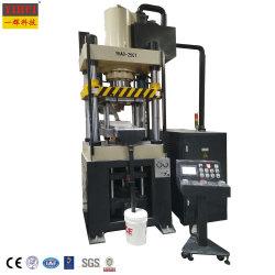 200 la tonne de métallurgie des poudres de servo de compactage de quatre colonne Presse hydraulique