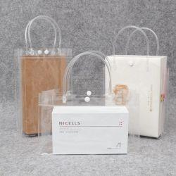 Пвх магазинов подарков мешок прозрачный косметики мешок для упаковки