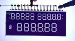 주문을 받아서 만들어진 한 전기 미터 LCD 디스플레이