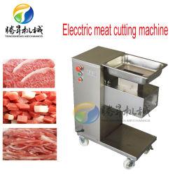 Industrielle Handelsscheibe-Streifen-Form-Huhn-Fleisch-Ausschnitt-Maschine (QE-60)