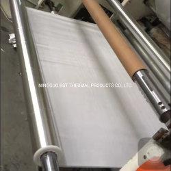 Papel de aluminio, fibra de vidrio Ropa reflectante de calor radiante