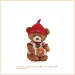 Sports Ursinho Urso de Rugby brinquedo fabrico OEM