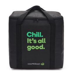 Ecológico reutilizable con cremallera aislados de logotipo personalizado Tote refrigerador no tejido Bolsa para alimentos