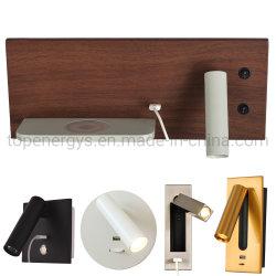 Индикатор USB настенные лампы фонаря направленного освещения комнаты Home Отель на прикроватном мониторе настенный светильник 5V 2.1 USB современные осветительные приборы номера оформлены