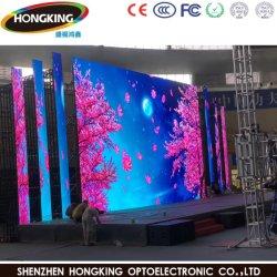 Faible consommation électrique à haute luminosité affichage LED P6