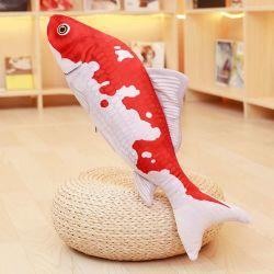 Домашняя укрепить опорный Cat Toy мягкие подушки рыбы с Catnip 16см