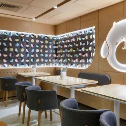 El bar del hotel Restaurante muebles mesa rectangular juego de comedor de madera