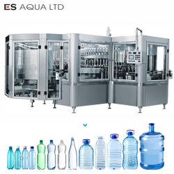 Suco de água das bebidas refrigerantes drinque bloco mono automática de engarrafamento de beber o aumento do limite máximo de enchimento de fábrica da linha de embalagem de rotulação