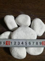 De Steen van de Kiezelsteen van het Sneeuwwitje, Cobble Steen, de Steen van de Rivier, Marmeren Kiezelstenen