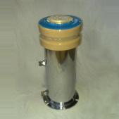 Condensatore di ceramica ad alta tensione raffreddato ad acqua di vuoto (CCGS-4, 5000PF, 24KV, 3000kVA)