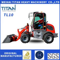 محرك حديقة عجلات Titan High Quality Grass Fork Wheel Garden Weehl Weichai جرار Euro III مع اللودر الصغير الأمامي ذو الطرف الأمامي Zl10f وصلة الجر