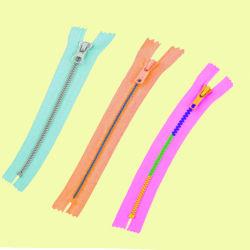 De aangepaste Ritssluitingen van de Hars met Schuiven, de Normale Ketting van de Hars met Kleurrijke Tanden, de Bidirectionele Plastic Ritssluitingen van het Open Eind voor Jasjes en de Toebehoren van de Kleding