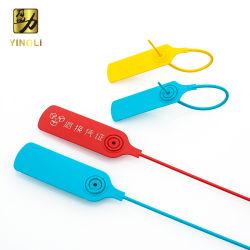 De PP puro a vedação do cabo as braçadeiras de cabos de plástico da vedação de segurança para o transporte de contentores Package