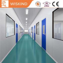 Aço PPGI PU/lã de rocha/EPS painel sanduíche para salas modulares personalizados para medicamentos quarto limpo com ISO