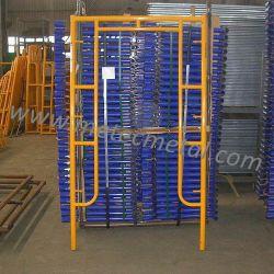 Walkthrough châssis pour l'échafaudage galvanisé à chaud pour la construction