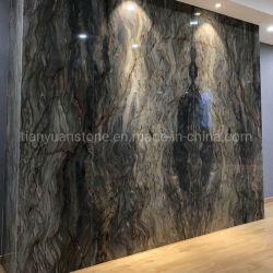 Pierre naturelle de quartzite multicolore Silk Road carreaux de granit caractéristique de paroi