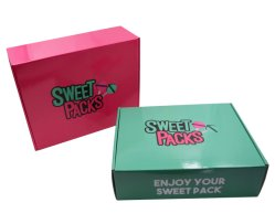 食糧服装の毛の靴のための個人化されたFoldable段ボール紙の包装のギフト用の箱