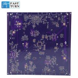 Custom 6 couches violet Imprimer carte de circuit imprimé de conception PCB Assemblée PCBA