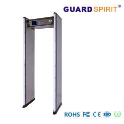 Controller-Fernsteuerungs24 Zonen-Sicherheits-Torbogen-Metalldetektor