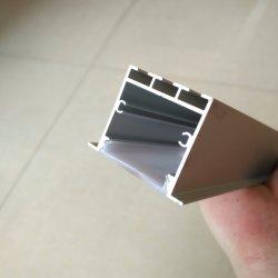 Extrusion de la poudre de châssis en aluminium anodisé de profil pour LED de sablage