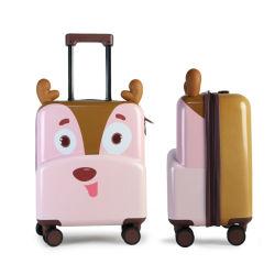 Carrinho de mini sala para crianças lindo design desenhos animados sacos de bagagem de impressão