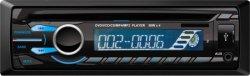 Precio barato 1 DIN universal Car Audio reproductor de DVD con USB/SD/Aux/FM