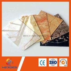 Alto brillo Pirorretardante impermeable de PVC antiestático de oro de hoja de hoja de plástico de PVC