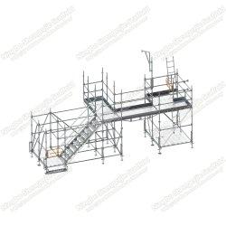 Ringlock Modulair Systeem Scaffold Hdg Verzingend Frame