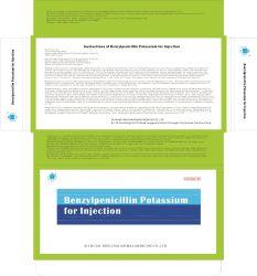 Anweisungen des Benzylpenicillin-Kaliums für Einspritzung-Tierarzt-verschreibungspflichtige Medikamente