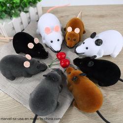 Muis van de Afstandsbediening van het Speelgoed van de Kat van de Jonge geitjes RC van het Speelgoed van de Katten van het huisdier de Draadloze Grijze