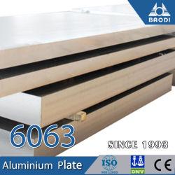 Plaque en aluminium 6063 T6 Harga plat pour faire face à la ligne de production de masque
