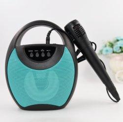 Amazonas-beweglicher Lautsprecher Bluetooth Lautsprecher-Mikrofon-im Freien Arbeitswegwoofers-drahtloser Karaoke Bluetooth Lautsprecher-Verstärker-Resonanzkörper