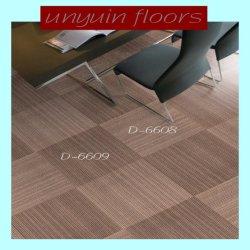 Tapis de sol PVC autoadhésif d'intérieur du grain de tapis de plancher en vinyle à grain