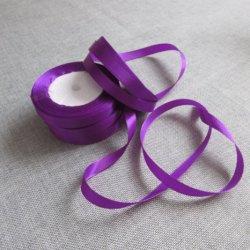 100 % polyester tissé satin ruban décoratif pour un emballage cadeau