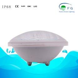 Outdoor Pool IP68 Iluminação LED de plástico por 56 RGB com controle remoto
