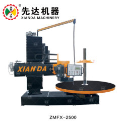 Schutzkappe der Spalte-Zmfx-2500 und Unterseiten-Profil-Stein-Ausschnitt-Maschine für Granite& Marmor