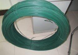 Для использования вне помещений зеленый провод соединительной тяги с покрытием из ПВХ сад стальной стальной проволоки