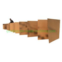 Переработанных одной стене со стандартным C ФЛЕЙТА Z гофрированный картон складывания крыльев