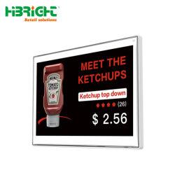 Supermarché ESL électroniques sans fil de faible énergie 3 Couleur étagère étiquette de prix