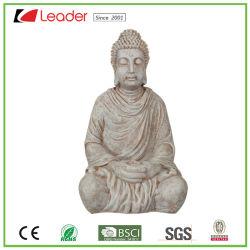 Efecto de piedra popular estatua de Buda Polyresin Figurita para el hogar y jardín decoración, su propia estatuas son bienvenidos