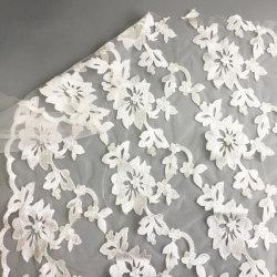 Naar maat gemaakte Goede Prijs 100 van het Embleem van Af:drukken de Stof van het Kant van de Polyester