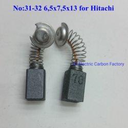 Стандартные оригинальные упаковочные электроинструмент угольная щетка Hitachi 6.5*7,5*13