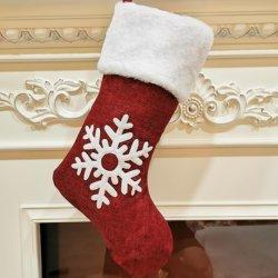 2020 grenzüberschreitendweihnachtssocken-Geschenk-Beutel, roter Elch gestickte Weihnachtssocken, Weihnachtsgeschenke, Weihnachtsanhänger